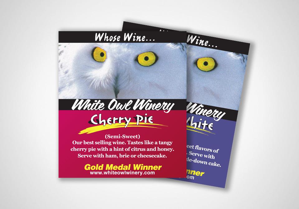 White Owl Winery Shelftalkers
