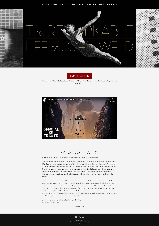 John Weld Homepage